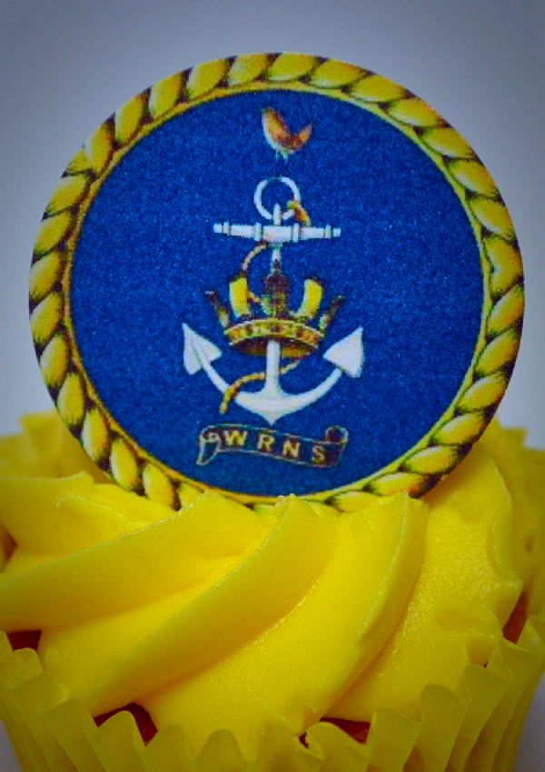 WRNS Wrens cake toppers -  WRNS Crest